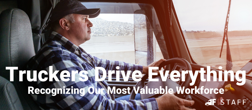 truck drivers are an important part of our economy