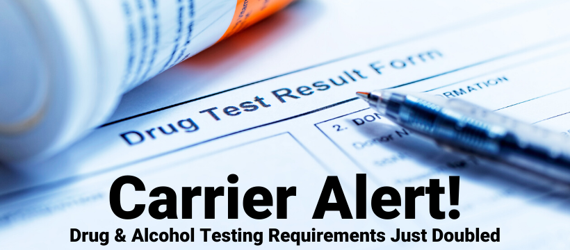 drug and alcohol testing for carriers